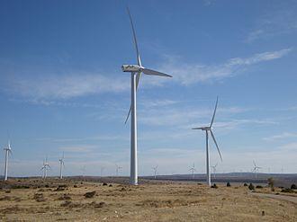 Sierra de Solorio - Image: Maranchón Complex Windpark