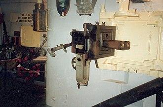 Casemate de Marckolsheim Sud - JM machine gun