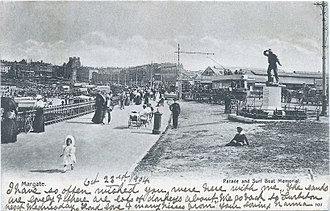 History of Ramsgate - Tram in the background, Margate