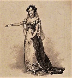 Love's Victory - Image: Maria Ann Lovell as Lady Diana