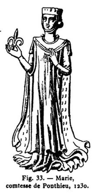 Marie, Countess of Ponthieu - Marie, Countess of Ponthieu