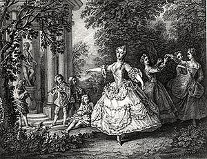 Ballet - Marie Sallé, classical ballet dancer