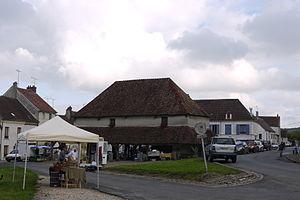 Marigny-en-Orxois - The market hall of Marigny-en-Orxois
