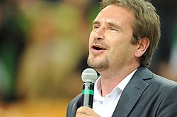 Marijonas Mikutavičius during EuroBasket 2011.jpg