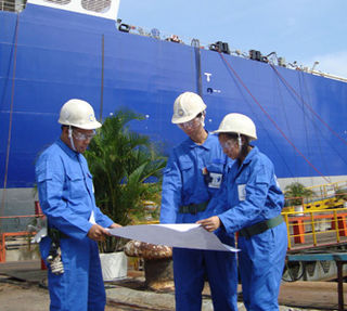 Marine engineering Engineering of boats, ships, oil rigs or other marine vessel or structure