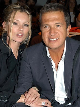 Kate Moss - Moss with Mario Testino in 2007
