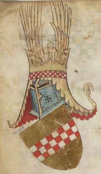 House of La Marck - La Mark coat of arms, 14th century