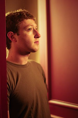 Mark Zuckerberg, Facebook founder and CEO, dur...