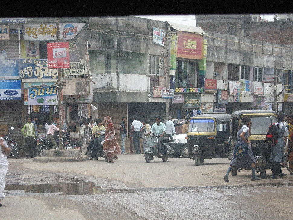 Market of Palanpur Gujarat