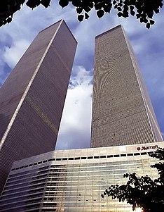 Marriott World Trade Center architectural structure