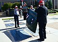 Mars Tack Force dedicates Memorial Stone on Fort Bragg (7996220904).jpg