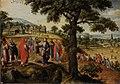 Marten van Valckenborch - Christ defends the plucking of the ears of grain on the Sabbath (August).jpg