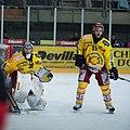 Martin Zerzuben (L), Olivier Schäublin (R), Lausanne Hockey Club - HC Sierre, 20.01.2010.jpg