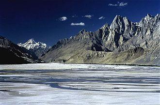 Masherbrum - Masherbrum view from Surmo, Gilgit Baltistan.