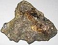 Massive Pt-Pd-rich sulfide (platinum-palladium ore) (Johns-Manville Reef, Stillwater Complex, Neoarchean, 2.71 Ga; Stillwater Mine, Beartooth Mountains, Montana, USA) 2.jpg
