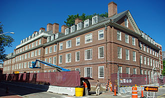 """Quincy House (Harvard College) - Stone Hall (the former Increase Mather Hall, usually called """"Old Quincy"""")"""
