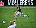 Matthias Vilhjalmsson scores the last goal, Sogndal-Rosenborg 07-15-2017.jpg