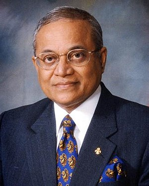 English: Maumoon Abdul Gayoom, President of th...