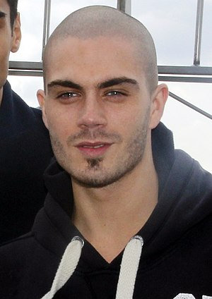Max George (singer) - George in 2012