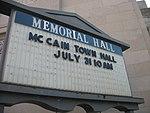 McCain Town Hall in Racine, July 31, 2008 (2722998366).jpg
