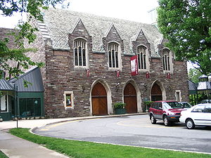 McCarter Theatre - The entrance of McCarter Theatre