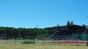 McCulloch Stadium - Field from the east
