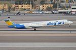 McDonnell Douglas MD-83 'N881GA' Allegiant (28284039803).jpg