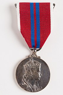 British and Commonwealth medal
