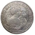Medallion depicting Maria Giovanna Battista of Savoy as regent for her son Vittorio Amedeo II in 1680.jpg