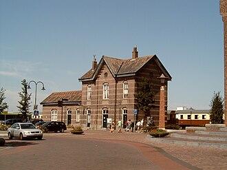 Medemblik - Image: Medemblik, bij spoortram station 2006 08 06 13.18