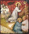 Medio reno o westfalia, altare del medio reno, 1410 ca., verso 04 orazione nell'orto.jpg
