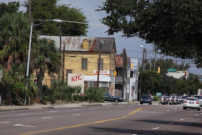 File:Meeting Street at Line Street Charleston South Carolina.jpg