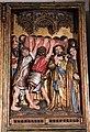 Meister francke, altare di santa barbara, amburgo 1420 circa, dalla chiesa di kalanti, sculture 04 funerali di maria.JPG