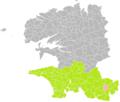 Mellac (Finistère) dans son Arrondissement.png
