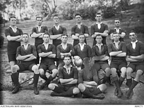 First Fifteen of Royal Military College, Duntroon in 1913