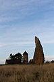 Menhir de la file sud des alignements du Moulin sur les Landes de Cojoux (Saint-Just, Ille-et-Vilaine, France).jpg