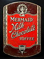 Mermaid Milk Chocolate toffee tin made by Horner, photo1.JPG