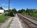 Merrimack station platform facing north, August 2012.JPG