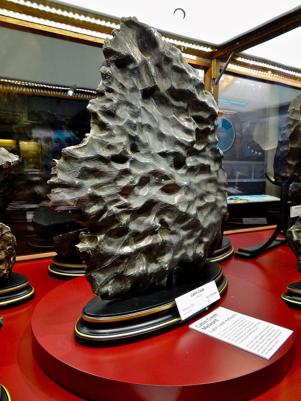 Meteorito - Wikipedia, la enciclopedia libre