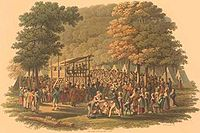 Methodist camp meeting (1819 engraving).jpg