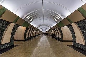 Maryina Roshcha (Moscow Metro) - Image: Metro MSK Line 10 Maryina Roshcha