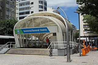 General Osório Station metro station in Rio de Janeiro, Brazil