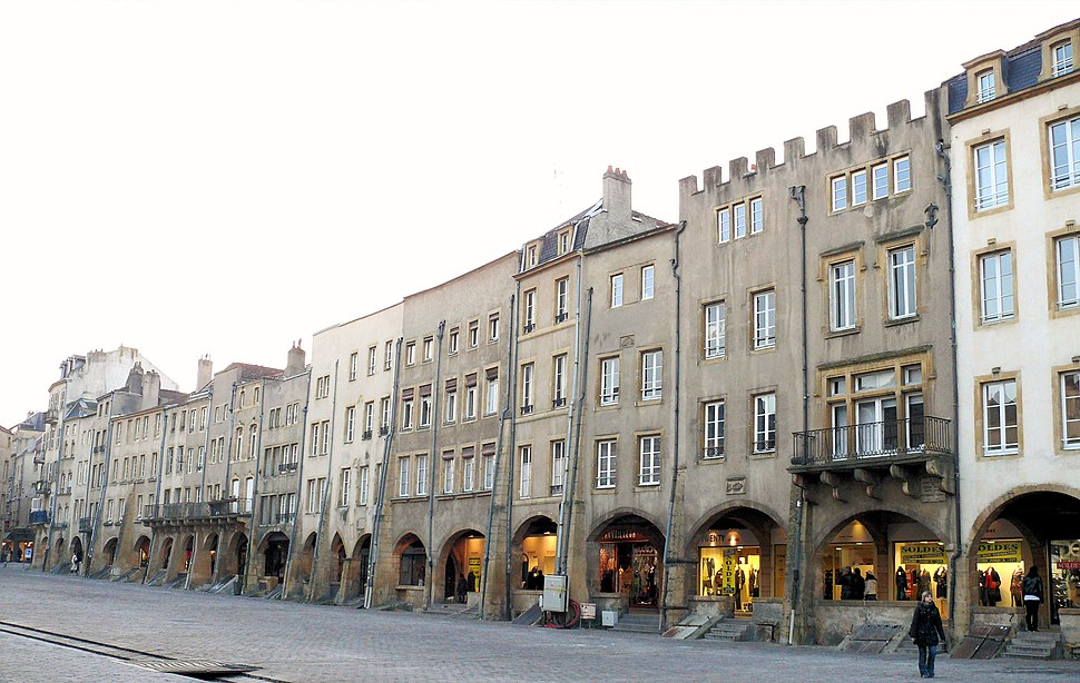 Metz - Place Saint-Louis -622