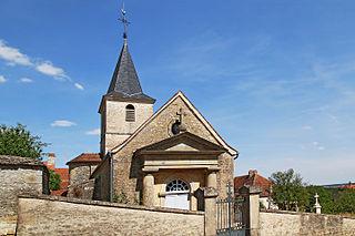Meulson Commune in Bourgogne-Franche-Comté, France