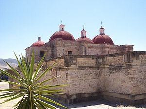 Mitla - Church of San Pedro