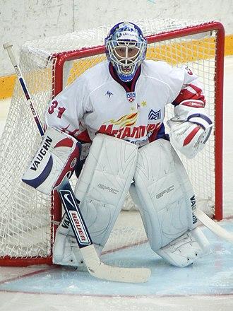 2009 IIHF World Championship rosters - Goaltender Andrei Mezin was named the tournament's best goalkeeper.