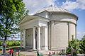 Miłoszyce Cmentarz 1830r - Kaplica w formie Panteonu.jpg