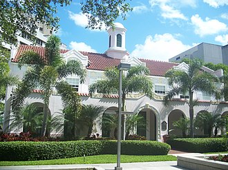 Miami City Hospital, Building No. 1 - Image: Miami FL Hospital Bldg 1 01