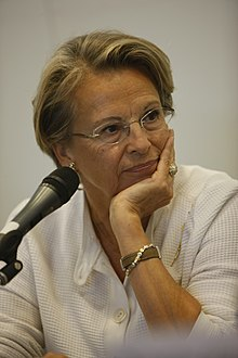 Michèle Alliot-Marie, le 4 septembre 2009.