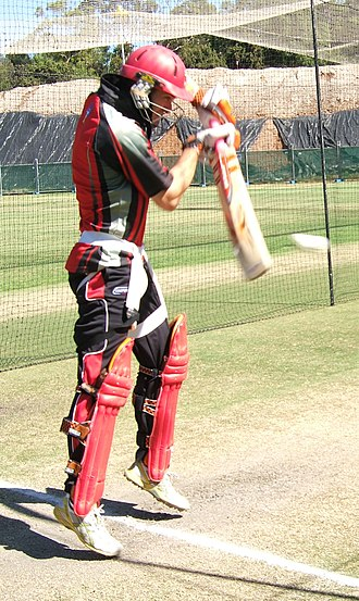 Michael Klinger - Image: Michael Klinger batting